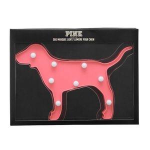 PINK Victoria's Secret dog marquee light NIB
